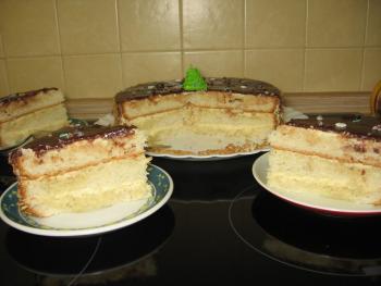 """Торт """"С творожным кремом"""". ГОСТ-1983"""