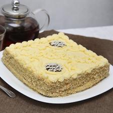 Торт «Славянка» с халвой (не ГОСТ, но из тех времен)